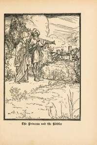 grimmova pravljica o kralju drozgobradu
