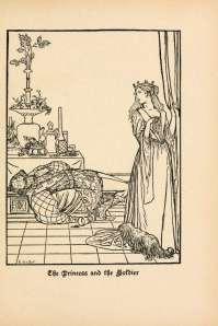 pravljica o nosati princesi ilustracija