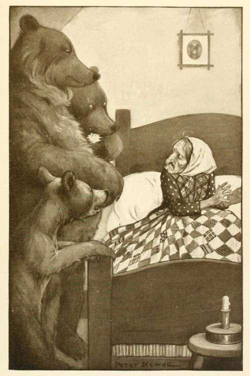 trije-medvedi-robert-southey