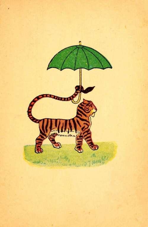 tiger-z-zelenim-deznikom