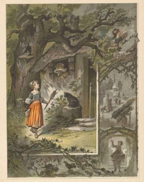 gospa-holle-ilustracija