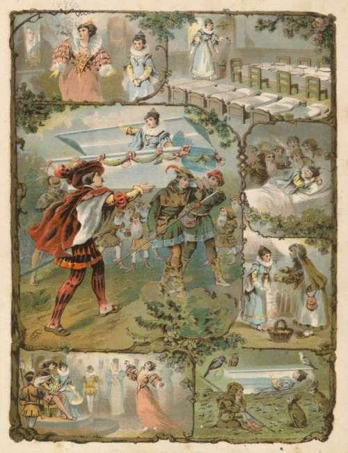 sneguljcica-in-sedem-palckov-ilustracija