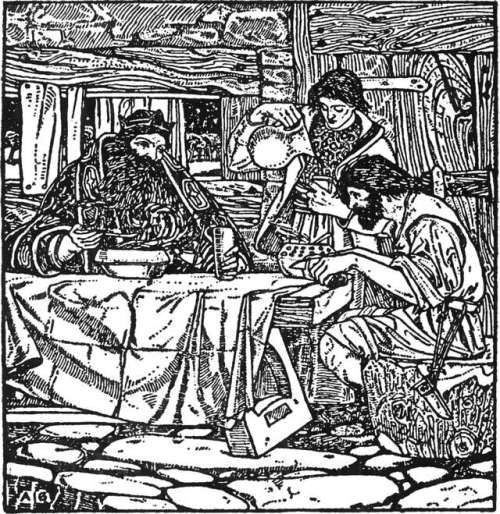 arthur-joseph-gaskin-ilustracija-crnobela-dobri-kralj-venceslav