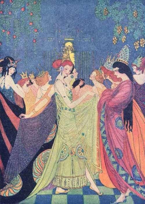 dvanajst-plesocih-princes-ilustracija-eleonore-abbott