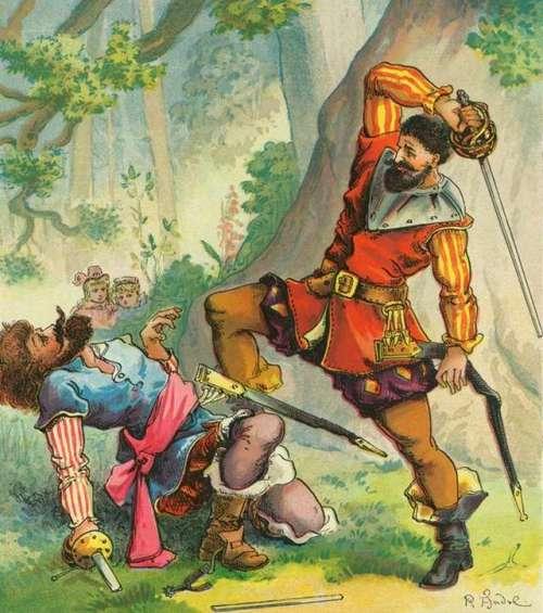 richard-andre-oroka-v-gozdu