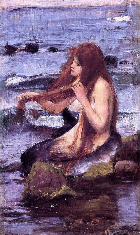 john-william-waterhouse-morska-deklica