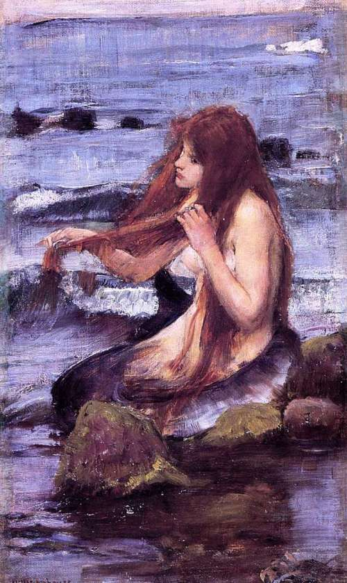 john-william-waterhouse-morska-deklica