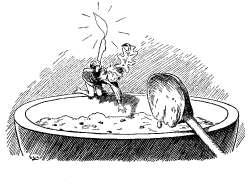 palcek-tom-v-kuhinji