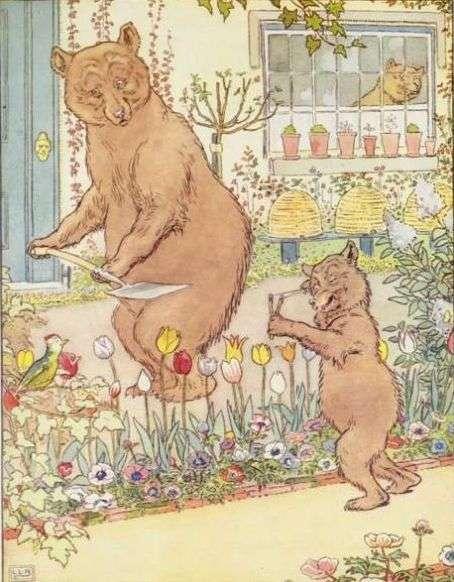 trije-medvedi-na-vrtu