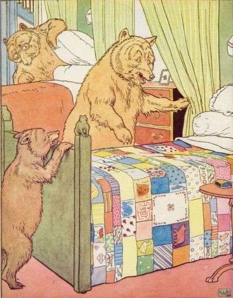 trije-medvedi-si-ogledujejo-postelje