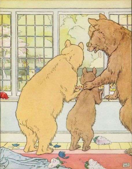 trije-medvedi-gledajo-za-pobeglo-zlatolasko