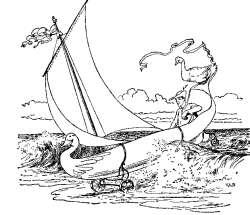zlata-goska-ladja-za-kopno-in-vodo