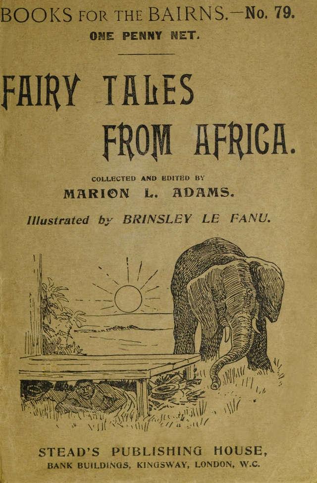 brinsley-le-fanu-afriske-pravljice-naslovna-stran
